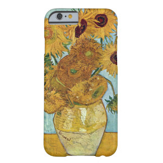 Sunflowers by Vincent Van Gogh Barely There iPhone 6 Case