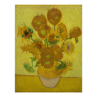 Sunflowers by Vincent van Gogh Poster