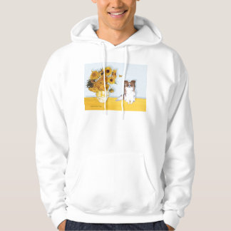 Sunflowers - Papillon 6 Hoodie