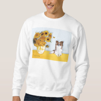 Sunflowers - Papillon 6 Sweatshirt