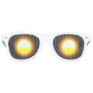 Sunglasses Adult Wayfarer Party Shades, White