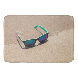 Sunglasses on the Beach Bath Mat