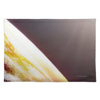 Sunlight over the Earth Placemat