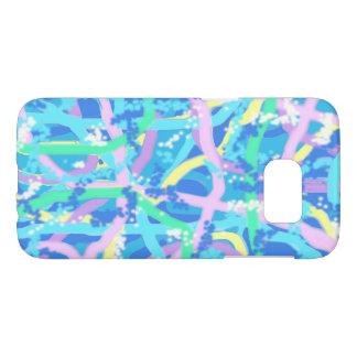 Sunlit Seaweed Bubble Design Phone Case