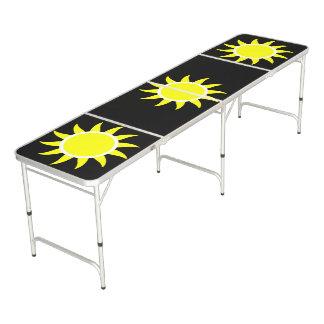 Sunny Beach Day Custom Color Pong Table