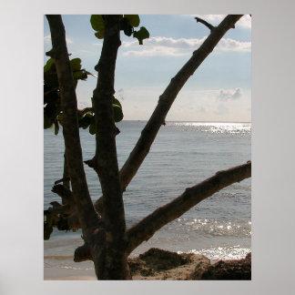 Sunny Beach Day Negril Jamaica Canvas Print 24x30