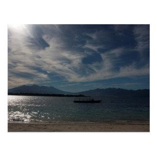 Sunny Beach In Thailand Postcard