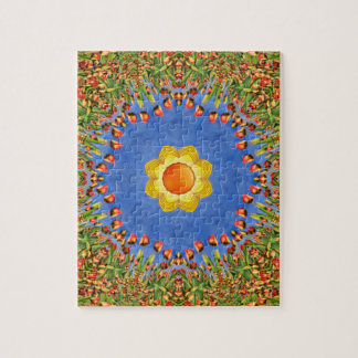 Sunny Day Jigsaw Puzzle with Gift Box