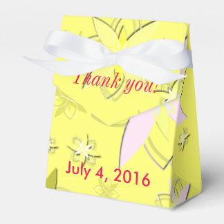 Sunny Days Wedding Favor Favour Box