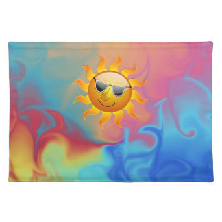 Sunny Fire and Ice American MoJo Placemat