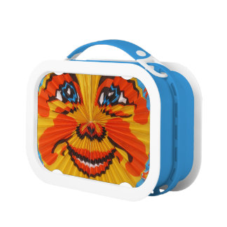 sunny funny face lunch box