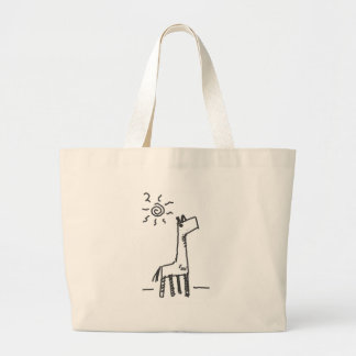 sunny horse large tote bag