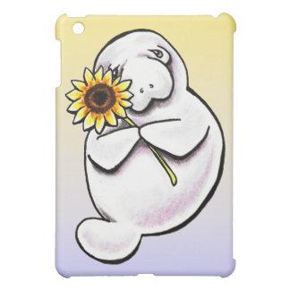 Sunny Manatee Off-Leash Art™ iPad Mini Covers