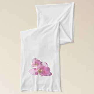 Sunny Pink Tulips Small Fower Scrarf Scarf