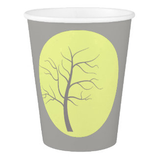 Sunny Tree funky Party Paper Cup