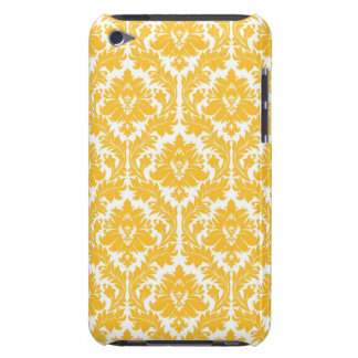 Sunny Yellow Damask iPod Touch Case