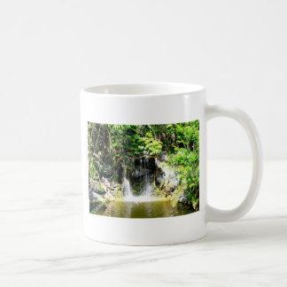 Sunreflected Waterfall Basic White Mug