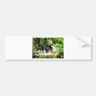 Sunreflected Waterfall Bumper Sticker