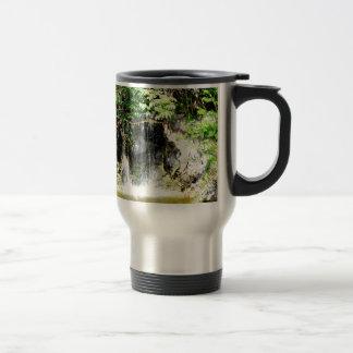 Sunreflected Waterfall Stainless Steel Travel Mug