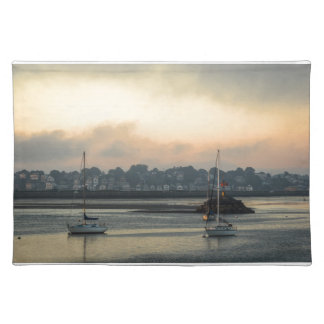 Sunrise and Boats Placemat