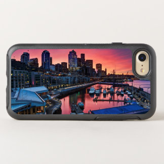 Sunrise at pier 66 looking down on bell harbor OtterBox symmetry iPhone 8/7 case