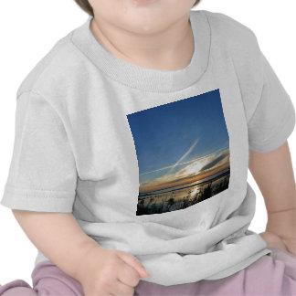 Sunrise at the lake t-shirt