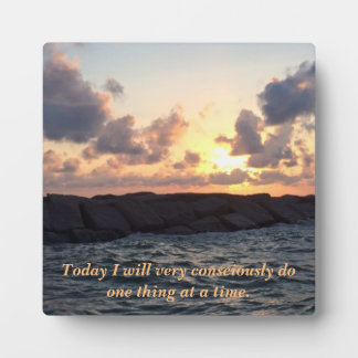 Sunrise Display Plaque with Easel