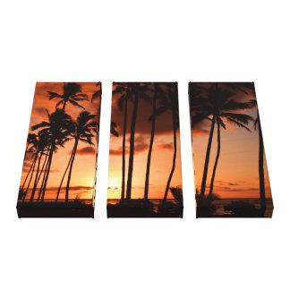 Sunrise from Kapa'a - Kauai, Hawaii Canvas Print