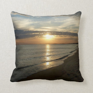 Sunrise in Norfolk VA Cushion