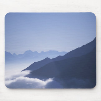 Sunrise in the Alps Mouse Pad