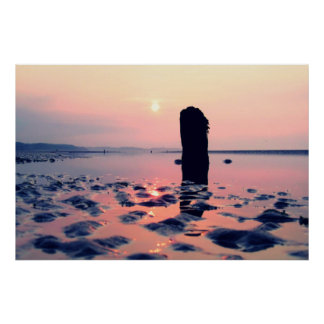 Sunrise Murlough Beach Poster