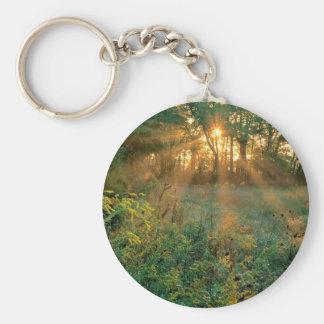 Sunrise Sunbeams Nashville Key Ring