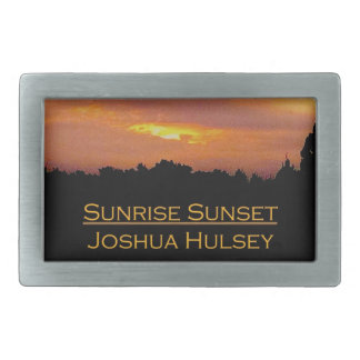 Sunrise Sunset Belt Buckle