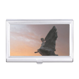 Sunset Angel – Ukraine Business Card Holder