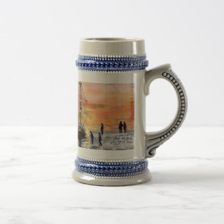 'Sunset Arrival' Stein 18 Oz Beer Stein