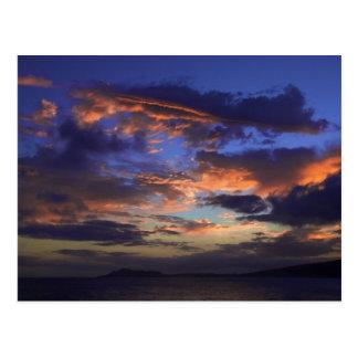 Sunset at Hawaii Kai Postcard