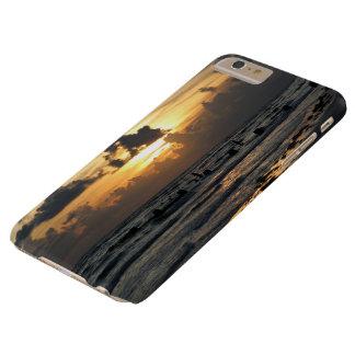 Sunset at Honeymoon Beach Florida iphone case