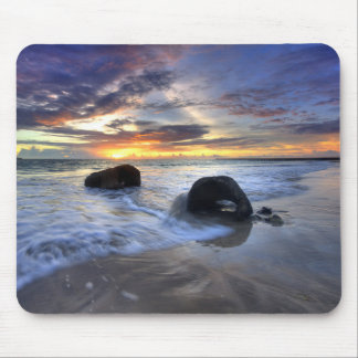 Sunset At Kedonganan Beach Mouse Pad