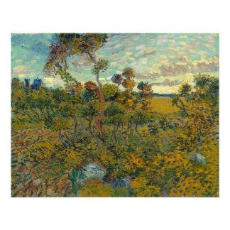 Sunset at Montmajour by Vincent Van Gogh Photograph