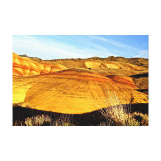 Sunset at Painted Hills fine art on canvas Stretched Canvas Prints