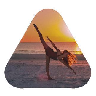 Sunset Ballet on the Beach