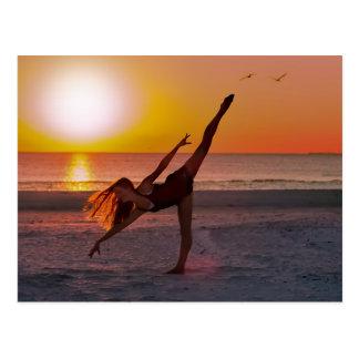 Sunset Ballet Postcards