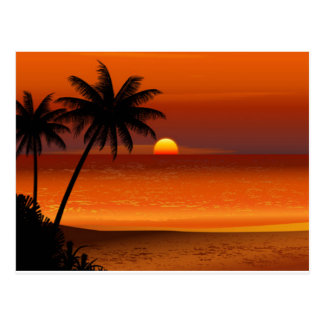 sunset beach oahu hawaii north shore postcard