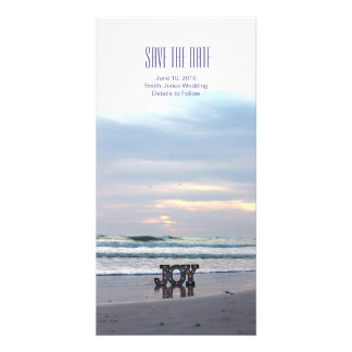 Sunset Beach Save the Date Photo Card