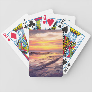 Sunset Cliffs tide pools Bicycle Playing Cards