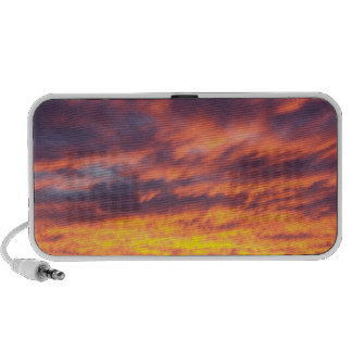 Sunset Clouds Portable Speaker