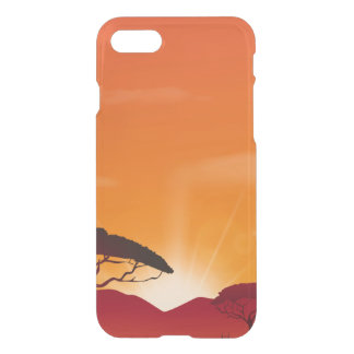 Sunset Custom iPhone 7 Clearly™ Deflector Case