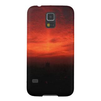 Sunset Dark Infinity Galaxy S5 Cases