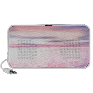 Sunset digital art laptop speakers