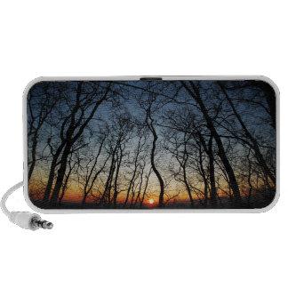 Sunset Doodle Portable Speaker